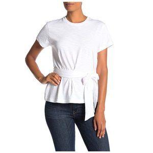 Vince Short Sleeve Wrap T-Shirt